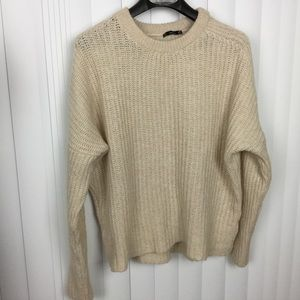 Zara | Cable Knit Oversize Sweater